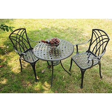 Borealis by Starsong 3 Piece Dining Set