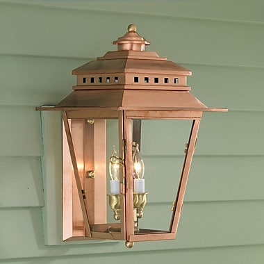 Norwell Lighting New Orleans 2 Light Outdoor Wall Lantern