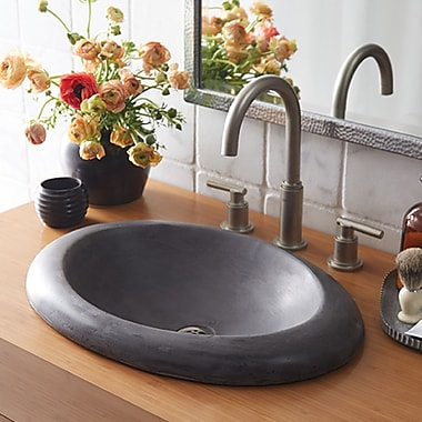Native Trails Cuyama Stone Self Rimming Bathroom Sink