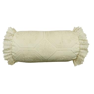 R&MIndustries Bolster Pillow; Ecru