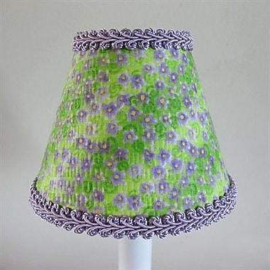 Silly Bear Lavender Fields 11'' Fabric Empire Lamp Shade