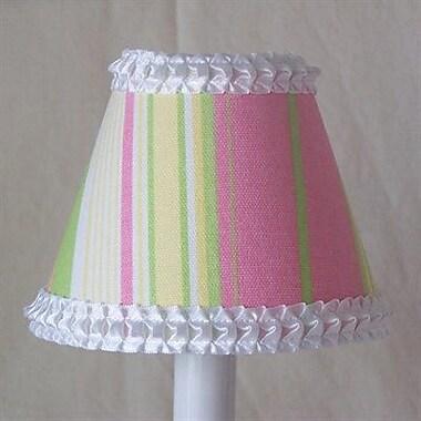 Silly Bear Sassy Stripes 11'' Fabric Empire Lamp Shade