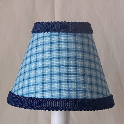 Silly Bear Spartan Plaid 11'' Fabric Empire Lamp Shade