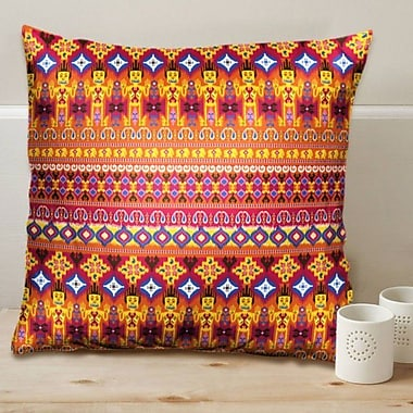 Orchid Trendz Dazzling Ikat Cushion Cover