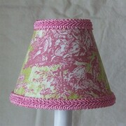 Silly Bear Jamestown 11'' Fabric Empire Lamp Shade