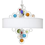 Van Teal Free Wheeling Wheels Of Style 6-Light Drum Chandelier