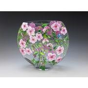 ChristinasHandpainted Cherry Blossom Vase