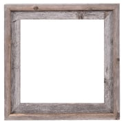 RusticDecor Reclaimed Barn Wood Open Frame