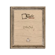 RusticDecor Reclaimed Barn Wood Signature Wall Picture Frame