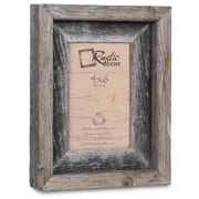 RusticDecor Barn Wood Reclaimed Wood Signature Picture Frame