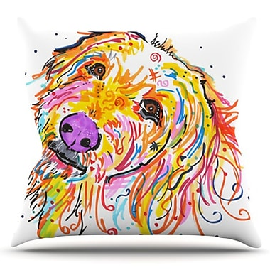 KESS InHouse Koda by Rebecca Fischer Outdoor Throw Pillow