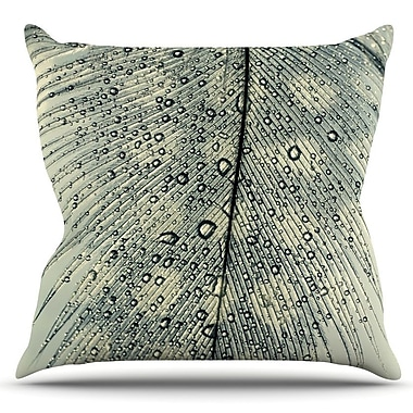 KESS InHouse Feather Light by Ingrid Beddoes Outdoor Throw Pillow