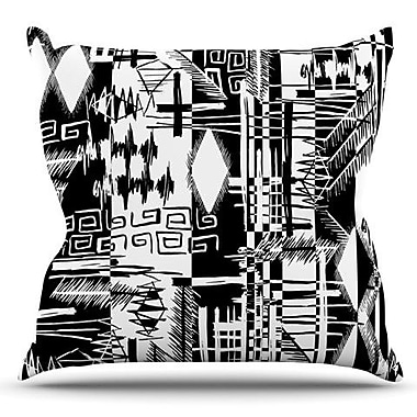 KESS InHouse Tropical Buzz by Gabriela Fuente Outdoor Throw Pillow