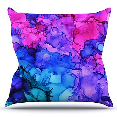 KESS InHouse Audrey by Claire Day Outdoor Throw Pillow