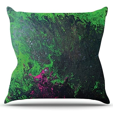KESS InHouse Acid Rain by Claire Day Outdoor Throw Pillow