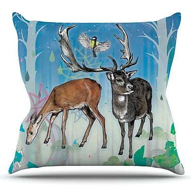 KESS InHouse Glade by Mat Miller Outdoor Throw Pillow