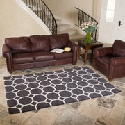 Harbormill Hand-Tufted Charcoal Area Rug; 5' x 8'