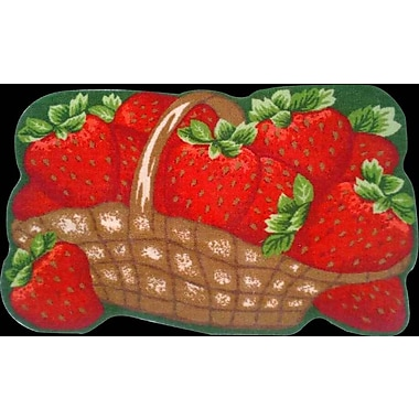 Daniels Bath Strawberries Kitchen Mat