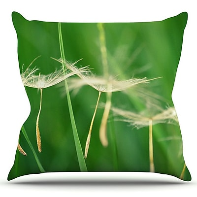 KESS InHouse Best Wishes by Robin Dickinson Outdoor Throw Pillow
