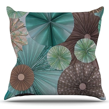 KESS InHouse Atlantis by Heidi Jennings Outdoor Throw Pillow