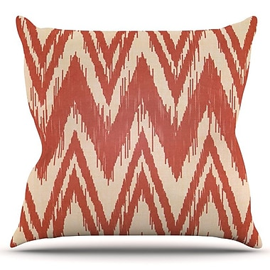 KESS InHouse Tribal Chevron by Heidi Jennings Outdoor Throw Pillow
