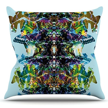 KESS InHouse Butterfly by Danii Pollehn Outdoor Throw Pillow