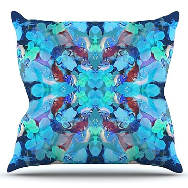 KESS InHouse The Moon and A Fox by Danii Pollehn Outdoor Throw Pillow