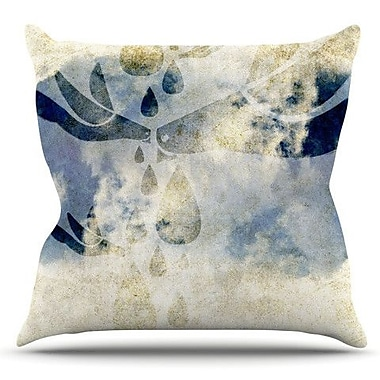 KESS InHouse Doves Cry by iRuz33 Outdoor Throw Pillow