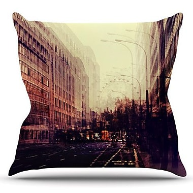 KESS InHouse London by Ingrid Beddoes Outdoor Throw Pillow