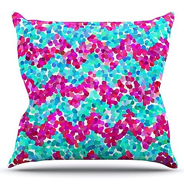 KESS InHouse Scattered by Beth Engel Outdoor Throw Pillow