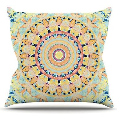 KESS InHouse Flourish by Iris Lehnhardt Outdoor Throw Pillow
