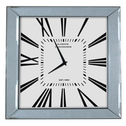 KingwinHomeDecor Mirror Framed Clock