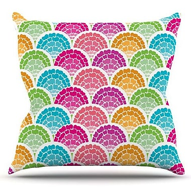 KESS InHouse Rina by Anneline Sophia Outdoor Throw Pillow