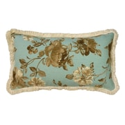 R&MIndustries Rosemont Floral 100pct Cotton Pillow