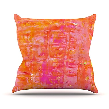 KESS InHouse Wiggle Outdoor Throw Pillow