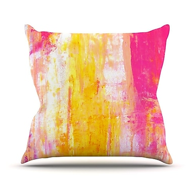 KESS InHouse Abstraction Outdoor Throw Pillow