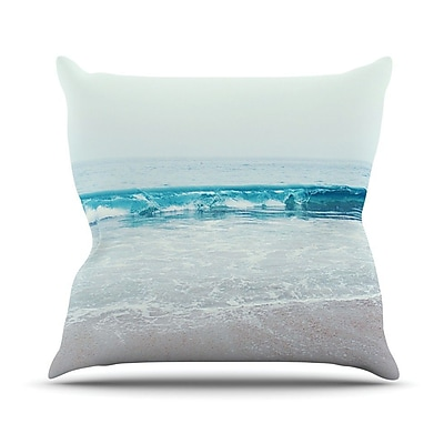 KESS InHouse Crystal Clear Outdoor Throw Pillow