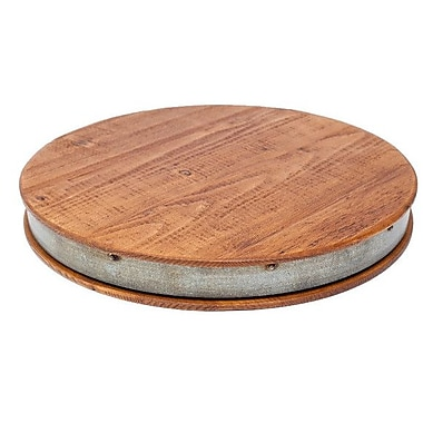 Europe2You Bordeaux Wine Barrel Lazy Susan