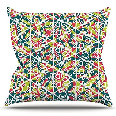 KESS InHouse Cool Yule by Miranda Mol Outdoor Throw Pillow