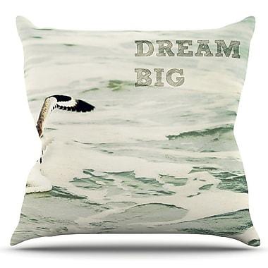 KESS InHouse Dream Big by Robin Dickinson Outdoor Throw Pillow