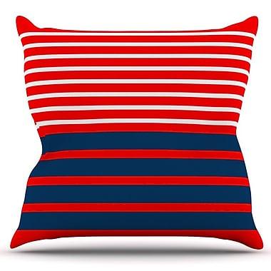 KESS InHouse Nauticki by Trebam Outdoor Throw Pillow