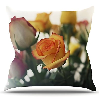 KESS InHouse Sweet Reminder by Beth Engel Outdoor Throw Pillow