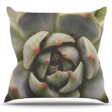 KESS InHouse Desert Succulent by Debbra Obertanec Outdoor Throw Pillow