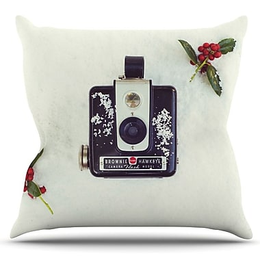 KESS InHouse The Four Seasons: Winter by Libertad Leal Outdoor Throw Pillow