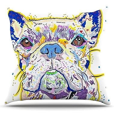 KESS InHouse Niko by Rebecca Fischer Outdoor Throw Pillow