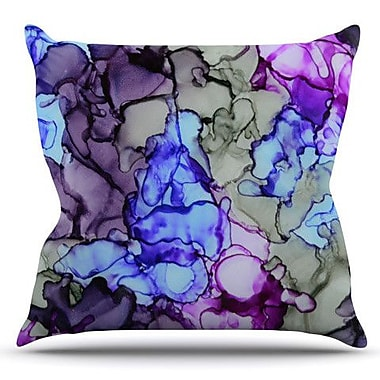 KESS InHouse String Theory by Claire Day Outdoor Throw Pillow