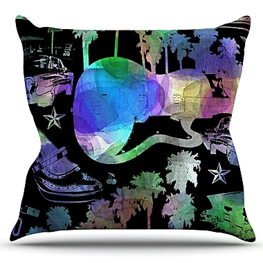KESS InHouse California Dream by Gabriela Fuente Outdoor Throw Pillow