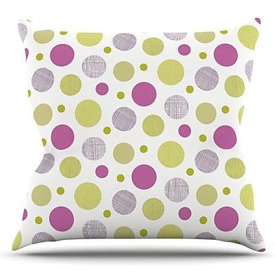 KESS InHouse Rhapsody Dot by Julie Hamilton Outdoor Throw Pillow