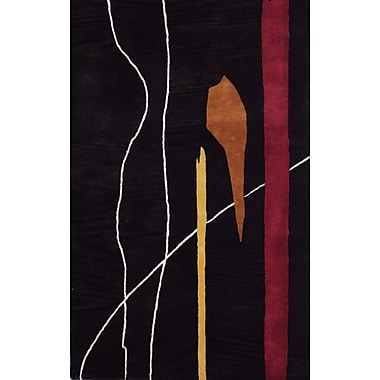 MOTI Rugs Abby Hand-Tufted Red Area Rug; Rectangle 5' x 8'