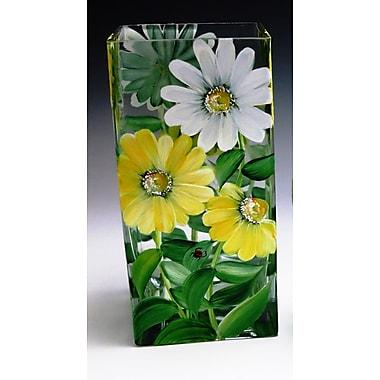 ChristinasHandpainted Daisy Duet Vase